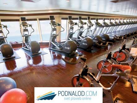 NORWEGIAN PEARL - gym