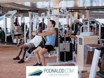 RCCL Brilliance of the seas - gym