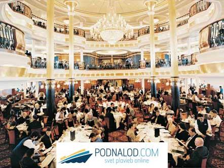 RCCL Voyager of the seas - Restauracia